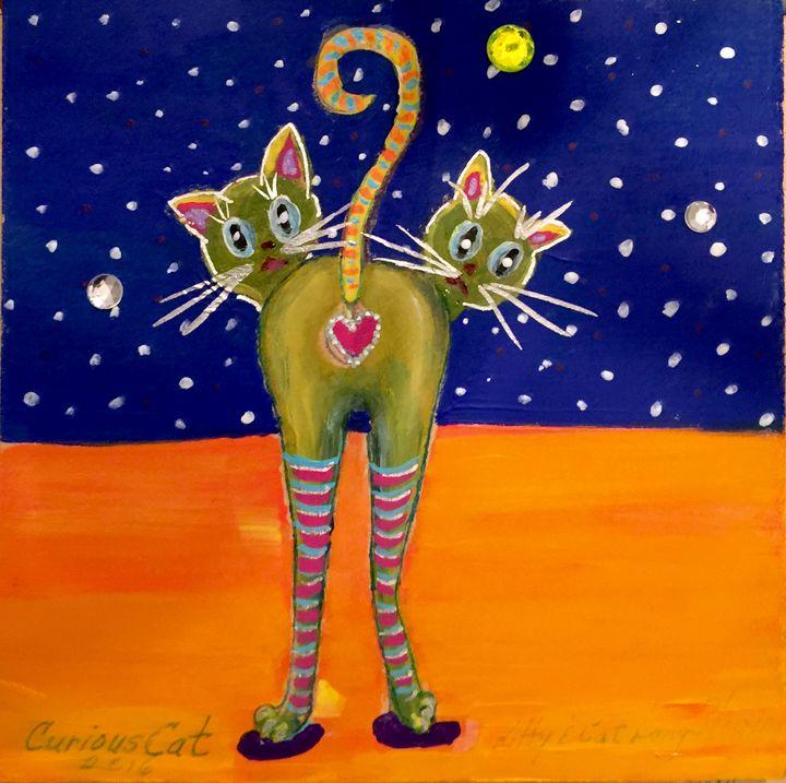 The Curious Cat - Merilee Tutcik