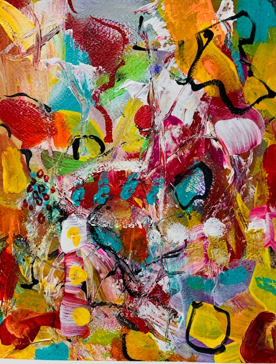 Abstract in Commotion - Merilee Tutcik