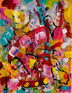 Abstract Colors in Commotion
