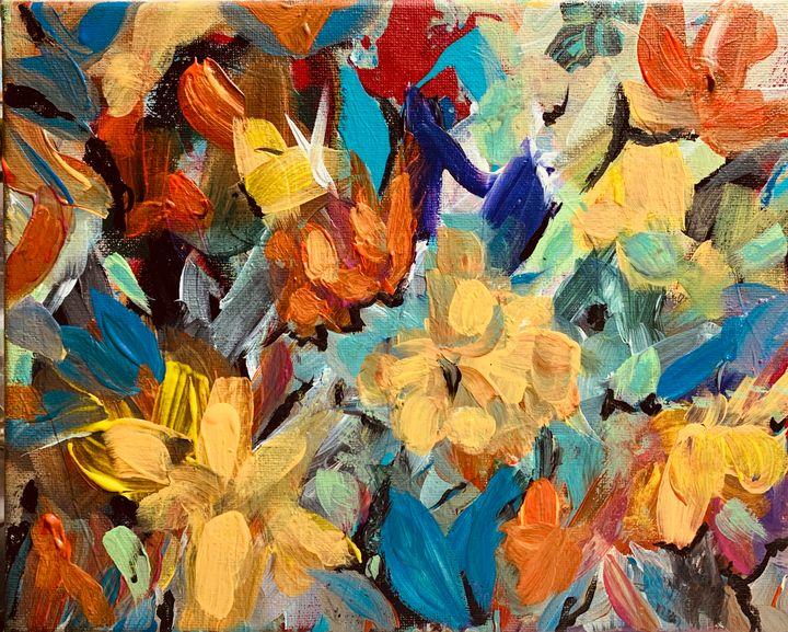 The Dance of the Flowers - Merilee Tutcik