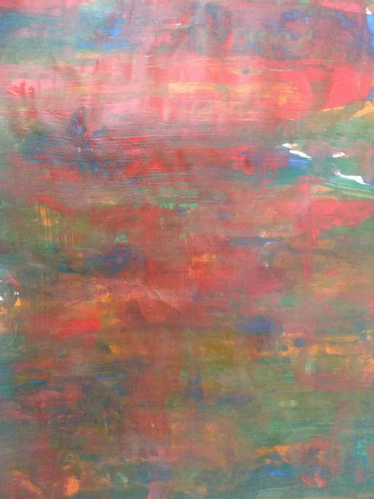 Abstract painting - United Colors of KKB's Art gallery