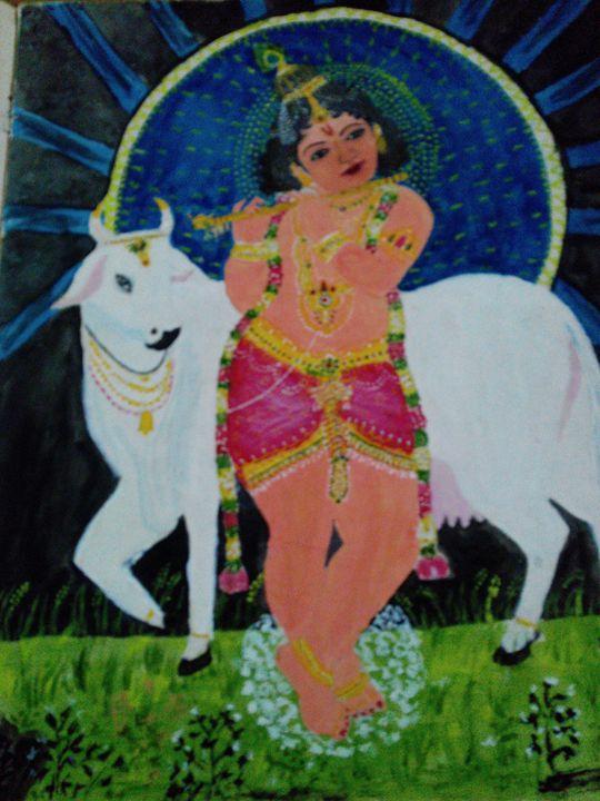 """""""Oh Krishna"""" -  Raruunni"""