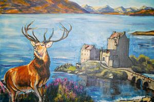 Deer by Highland caste
