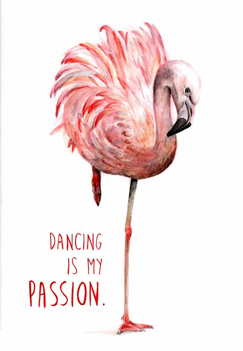 Flamingo Passion - Babbling Burble