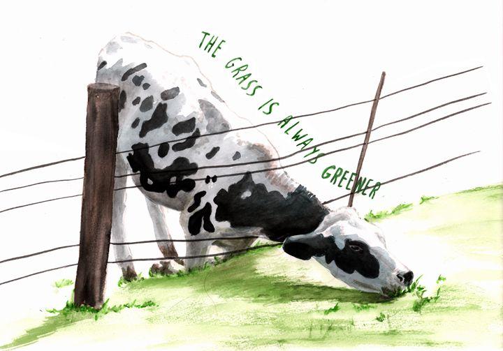 Greener Grass - Babbling Burble