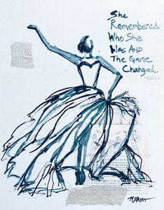 She Remembered - Blue Dancer