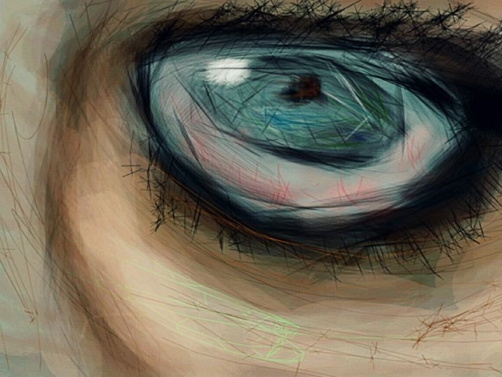 eye of the storm - insaneart