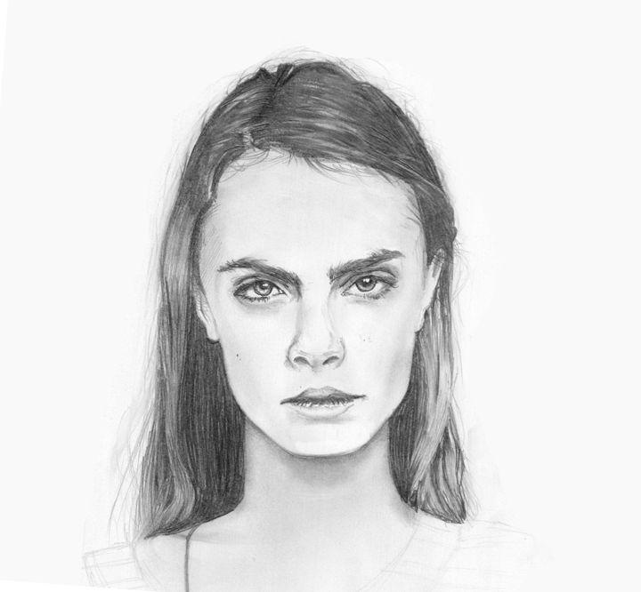 Cara Delevingne - Zoe C's Art