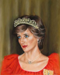 Lady Diana - portrait