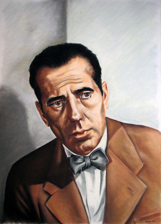 Humphrey Bogart - portrait - Danijel's Art