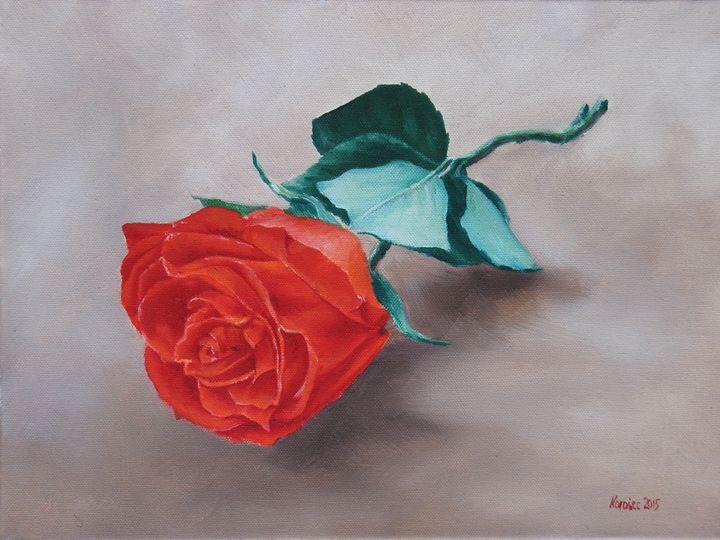 Single rose - Danijel's Art