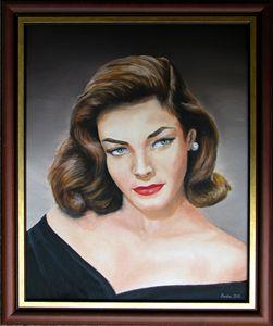Lauren bacall - portrait