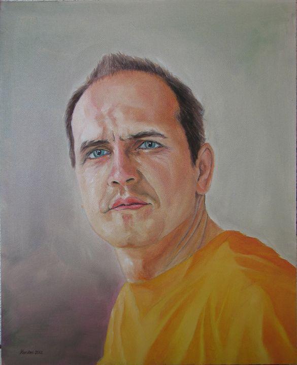 Portrait commission - painting - Danijel's Art