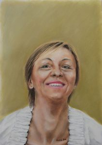 Portrait commission - pastel