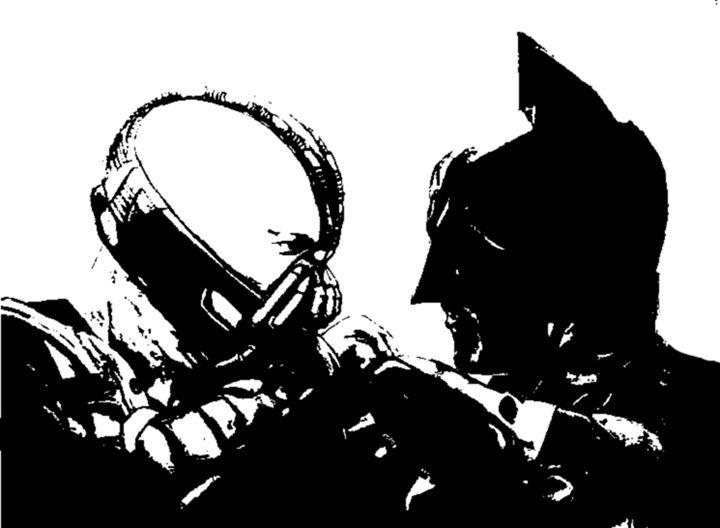 Bane & Batman - W. Cavanagh