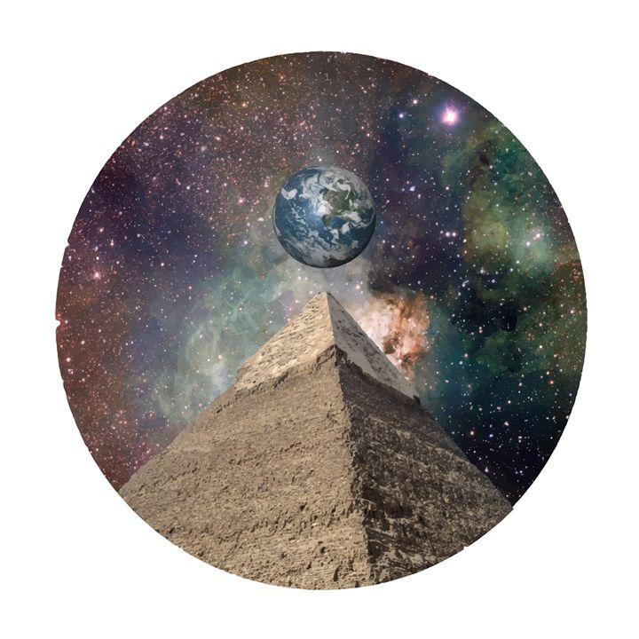 Space Pyrimd - Stimpy_Art