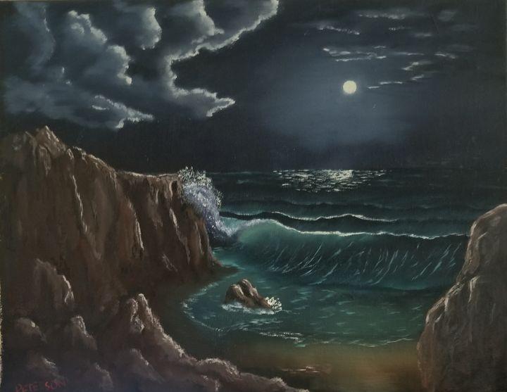 Ocean reflections - Artbybradon