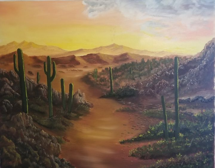 Desert dawn - Artbybradon