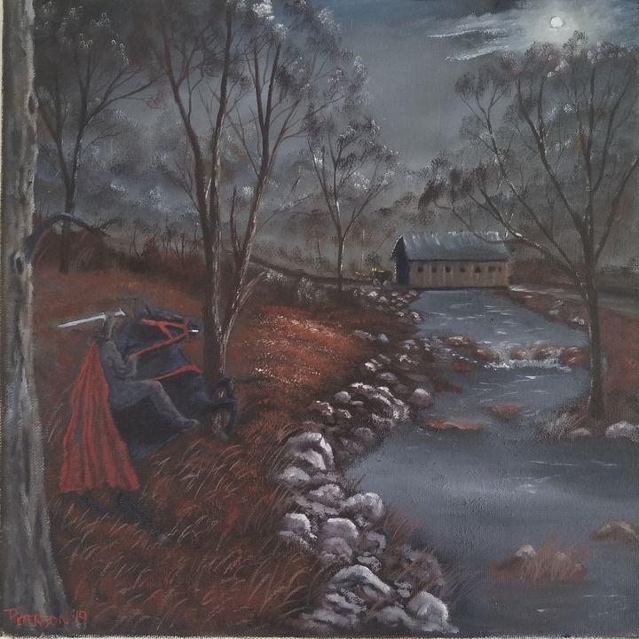Dark Rider - Artbybradon