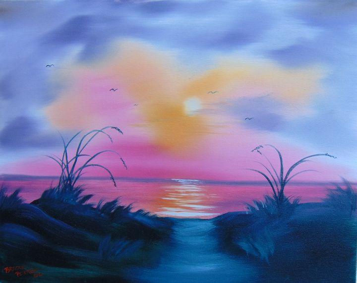 Early morning glow - Artbybradon