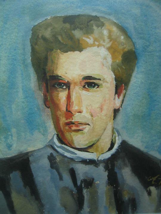 Portrait man - AP Art