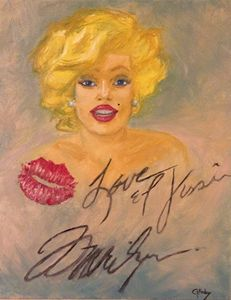 Marilyn Monroe Love and Kisses