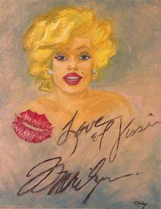 Marilyn Monroe Love and Kisses