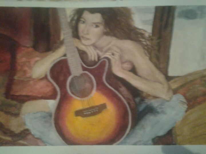 Watercolor Beauty - Desirea Artwork