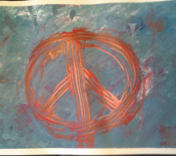 Peace Abstract - Desirea Artwork