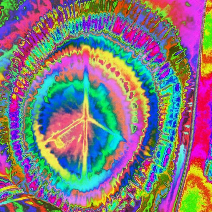 Psychedelic Peace - Desirea Artwork