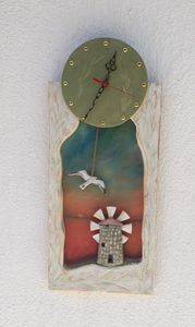The windmill clock - Zois Rompotis