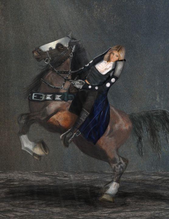 Chevalier noir - Emelie
