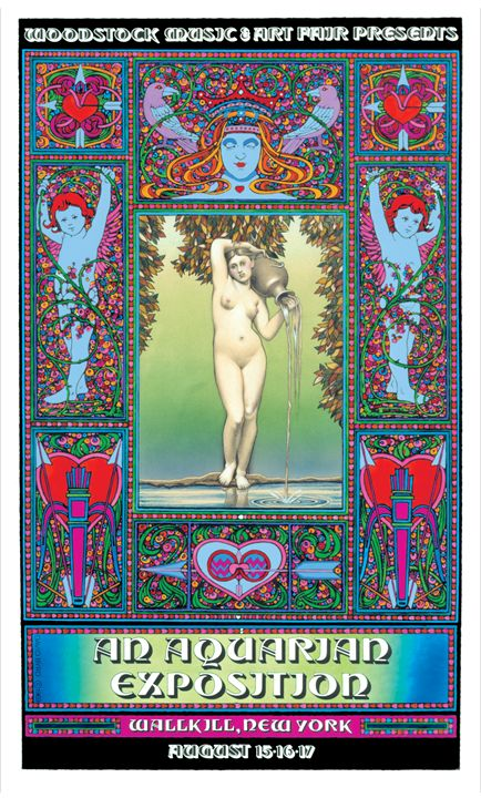 WOODSTOCK Festival 1969 - David Edward Byrd Posters