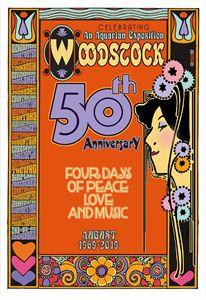 WOODSTOCK FESTIVAL 50th Anniversary - David Edward Byrd Posters