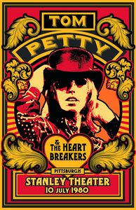 TOM PETTY & The Heartbreakers 1980