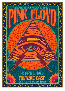 PINK JLOYD at the Fillmore East 1970