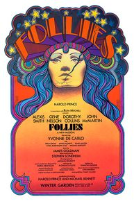 Stephen Sondheim's FOLLIES NYC 1971 - David Edward Byrd Posters