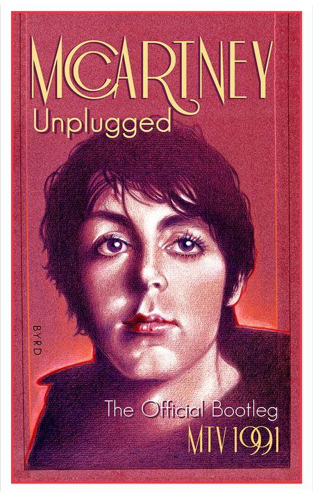 PAUL McCARTNEY UNPLUGGED 1991 - David Edward Byrd Posters