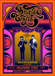 SEALS & CROFTS Fiimore East 1970 - David Edward Byrd Posters