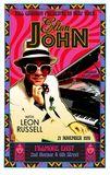 Concert poster Elton John