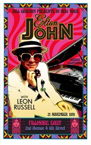 ELTON JOHN Fillmore East Debut 1970