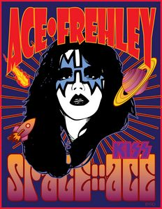 ACE FREHLEY 1978 Solo Album Portrait