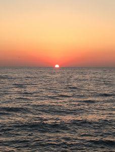 Sunrise on Lake Michigan