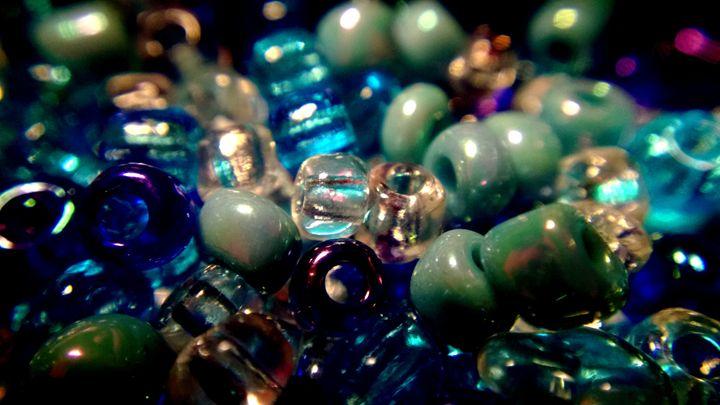 Blue Beads - Assassicactus