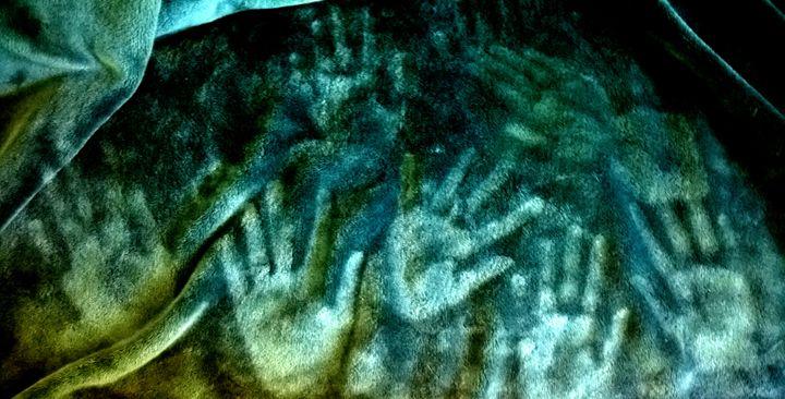 Fleece Hand Prints - Assassicactus