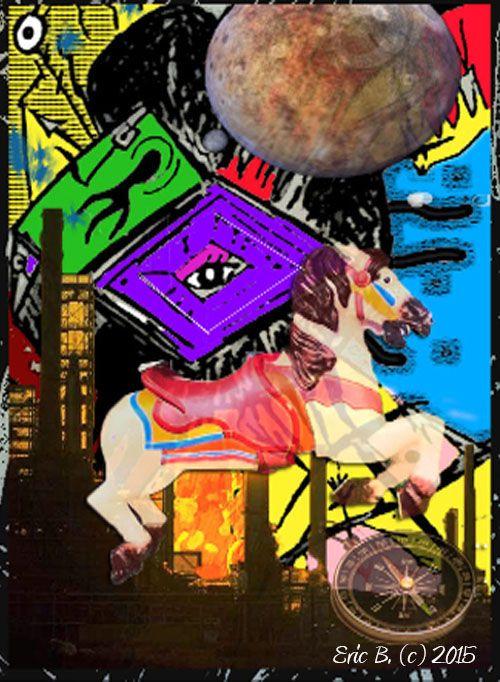 Illusions Around The Universe - EricBoi Art Vision