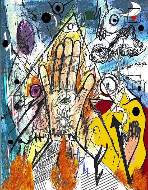 The Hand Of Verlezt - EricBoi Art Vision