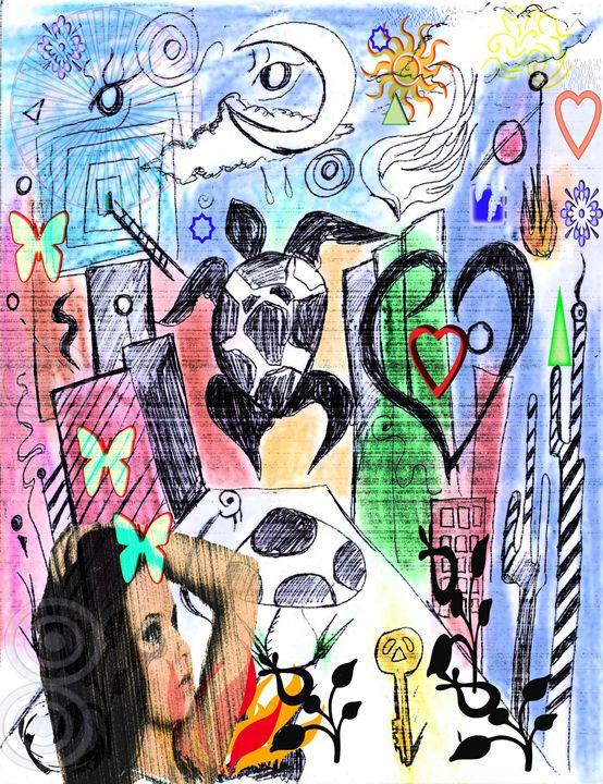 Imaginary Visualize Fantasy - EricBoi Art Vision