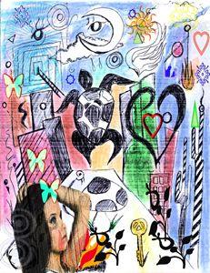Imaginary Visualize Fantasy