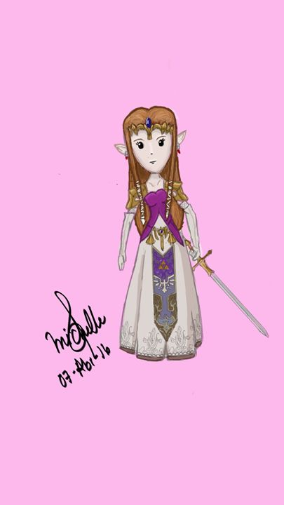 Twilight Princess Zelda - Michelle